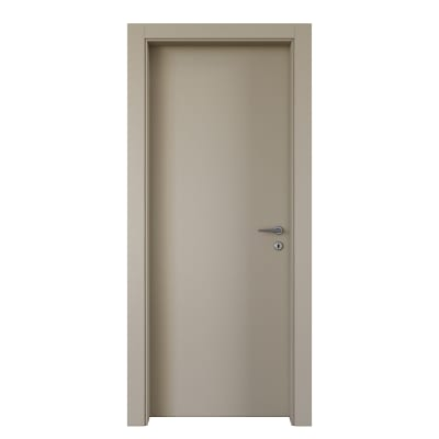 Porta da interno battente Cinder grigio 90 x H 210 cm sx