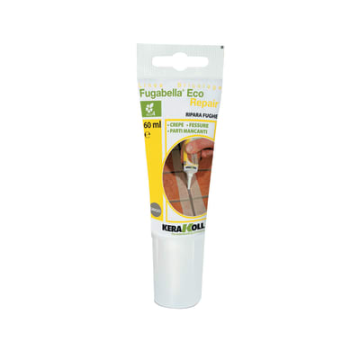 Stucco per fughe in pasta Kerakoll Fugabella Repair grigio scuro 60 ml