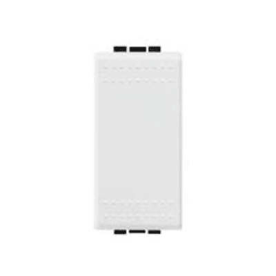 Deviatore 16A 1P Illuminabile BTicino Livinglight bianco