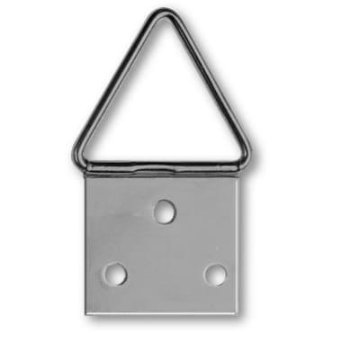 Attaccaglia snodata in acciaio ottonato