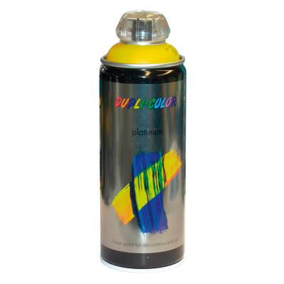 Smalto spray Platinum giallo traffico RAL 1023 Lucido 400 ml