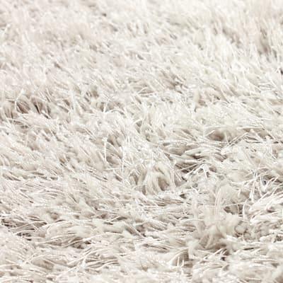 Tappeto Softy bianco ø 150 cm