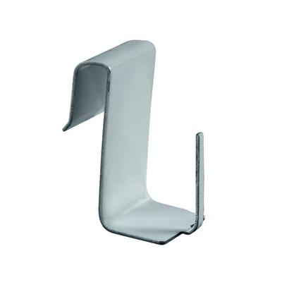 Supporti tasca stretti da serramento in ferro colore bianco