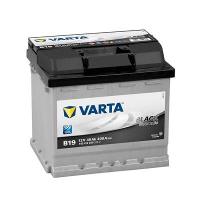 Batteria Varta per auto, 45 Ah, Black Dynamic B19, 12 V