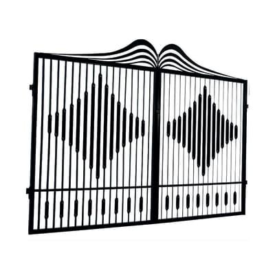 Cancello pre trattato Fuji L 300 x H 180/200 cm