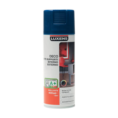 Smalto spray Deco Luxens Blu Blu 1 brillante 400 ml
