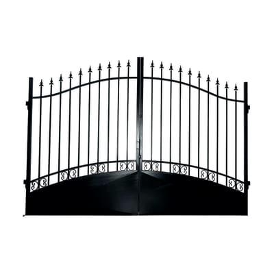 Cancello pre trattato Vesuvio L 350 x H 180/210 cm