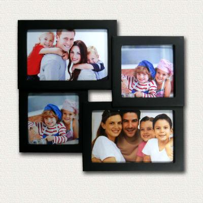 Portafoto multiplo Easy4 nero 4 foto