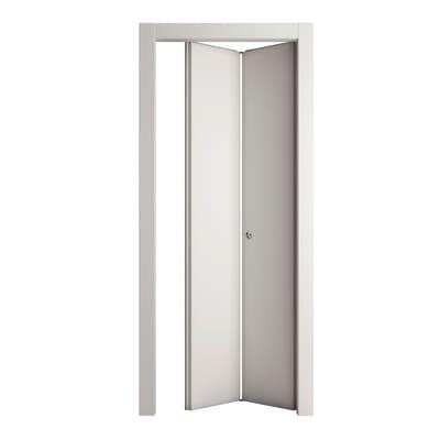 Porta da interno pieghevole Prado bianco 70 x H 210 cm dx