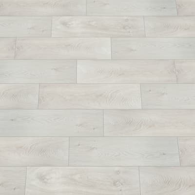 Piastrella Ash 18 x 62 cm bianco