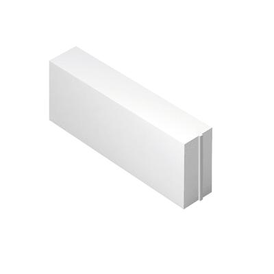 Blocco in calcestruzzo cellulare 62,5 x 25 x 15 cm