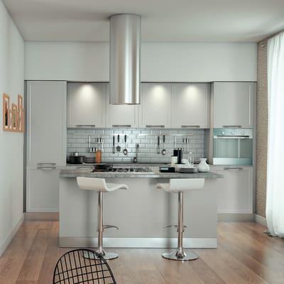 Cucina delinia newport grigio prezzi e offerte online for Delinia accessori