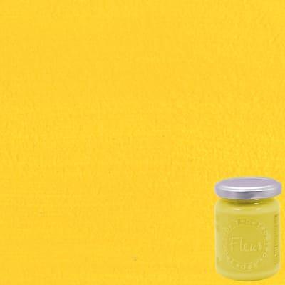 Colore acrilico giallo Primary yellow opaco 130 ml Fleur