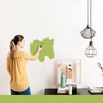 Tester idropittura murale Mano unica Verde Botanico 4 Luxens
