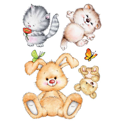 Wallstickers XL Cute animals