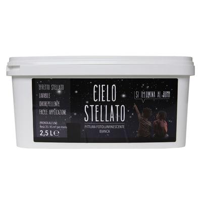 Idropittura lavabile bianca Cielo stellato 2,5 L