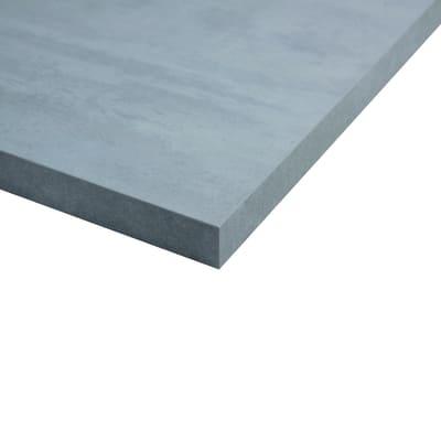 Piano cucina su misura laminato Beton grigio 2 cm