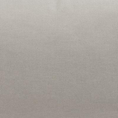 Cuscino Cilindrico grigio piping grigio 60 x 20 cm