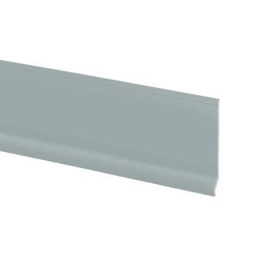 Battiscopa Basic grigio chiaro 7 x 70 x 2000 mm