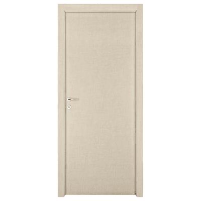 Porta da interno battente Klimt kaki 80 x H 210 cm sx