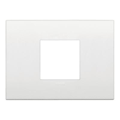 Placca 2 moduli Vimar 19652.74  Arké bianco
