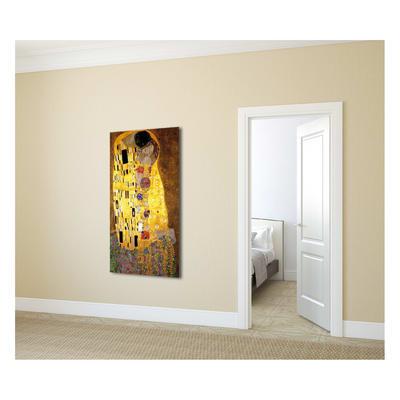 quadro su tela Bacio di Klimt 50x100