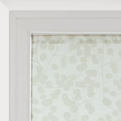 Tendina a vetro per finestra Empreinte grigio 60 x 120 cm
