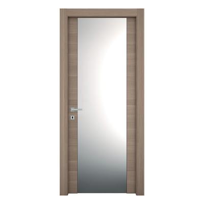 Porta da interno battente Sheraton rovere naturale 60 x H 210 cm dx