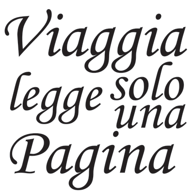 Wallsticker Words Up M Sant'Agostino