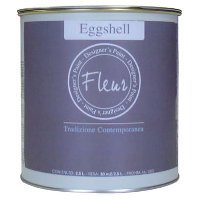 Smalto manounica Fleur Eggshell all'acqua good morning oslo satinato 0.75 L