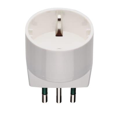 Adattatore RI.00302N S11 + P30 semplice 10A, Vimar bianco