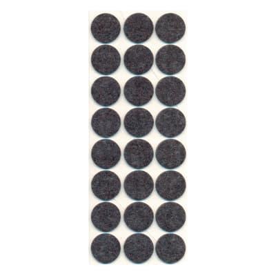 24 feltrini adesivi Ø 28 mm