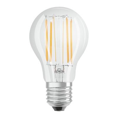 Lampadina LED Osram Filamento E27 =75W goccia luce calda 320°