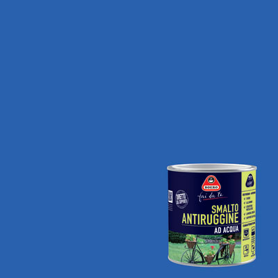 Smalto per ferro antiruggine viola satinato 0,5 L