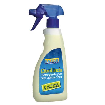 Pulitore spray alla citronella per rete zanzariera 750 ml