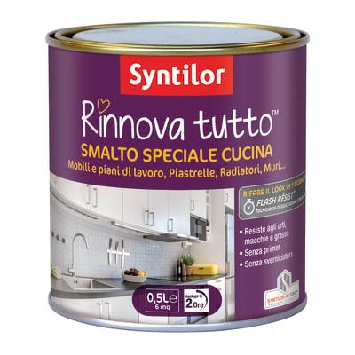 Smalto Rinnova tutto Syntilor Giallo Canarino 1 satinato 0,5 L