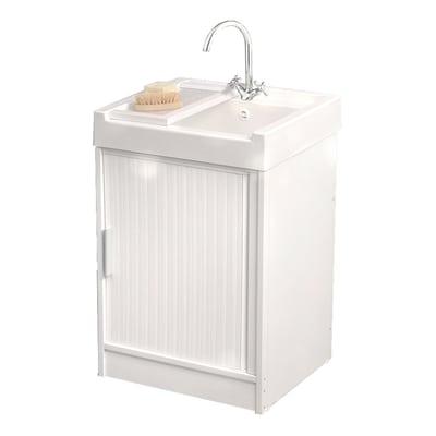 Mobile lavatoio Ice L 60 x P  50 x H 84 cm