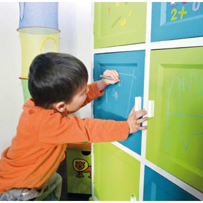 Pittura Effetto lavagna Les Décoratives verde 0.5 L