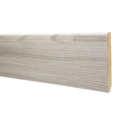 Battiscopa carta finish rivestito cipria 10 x 80 x 2200 mm