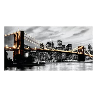 quadro su tela Brooklyn lights 90x190