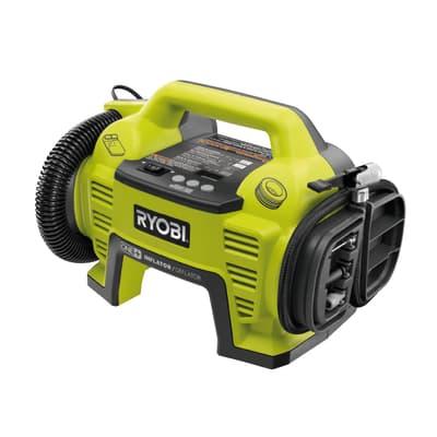 Minicompressore senza serbatoio Ryobi R18I-0 ONE+, silenziato, pressione massima 10 bar