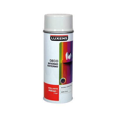 Smalto spray Deco Luxens grigio chiaro RAL 7035 brillante 400 ml