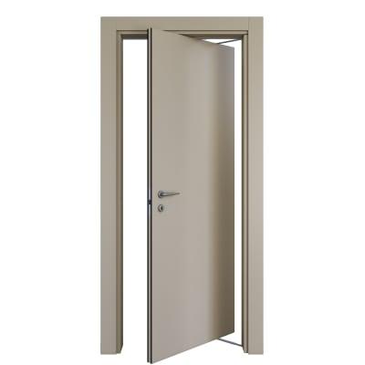 Porta da interno rototraslante Cinder grigio 70 x H 210 cm dx