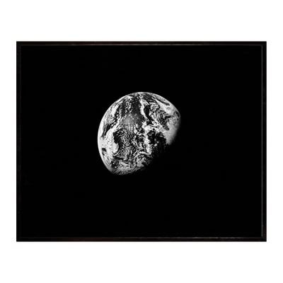 Stampa incorniciata Earth from space 30 x 40 cm