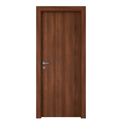 Porta da interno battente Noyer 80 x H 210 cm reversibile