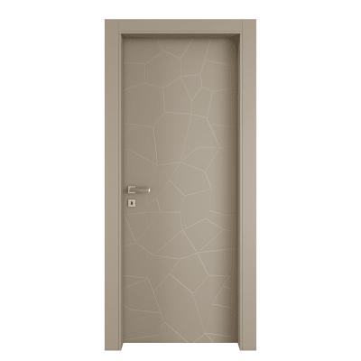 Porta da interno battente The Thing grigio 60 x H 210 cm dx