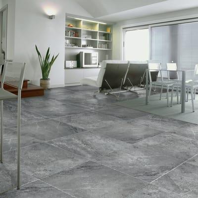 Piastrella Cipro 61,5 x 61,5 cm grigio
