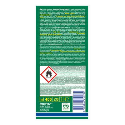 Pulitore spray Saratoga GreenHome disodorante 375 ml