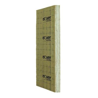Pannello in lana di vetro con carta kraft Mupan K 4+ Isover L 1,45 m x H 0,6 m, spessore 60 mm