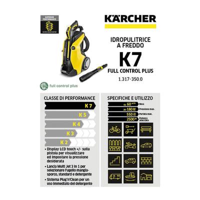 Idropulitrice acqua fredda Karcher K 7 Full Control Plus